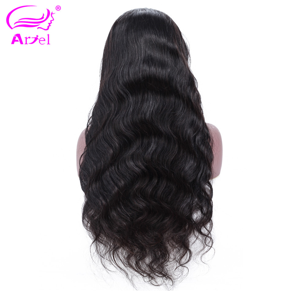 Body Wave Wig 13  4 Lace Front Human Hair Wigs For Black Women Mongolian Non Remy Lace Front Wig Pre Plucked Glueless Lace Wigs-in Human Hair Lace Wigs from Hair Extensions & Wigs    3