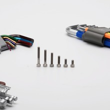 Postage TonKing Titanium GR5 Fastener Metric Titanium M4 Hexagon socket bolts 1 pcs