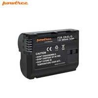 1 paquet EN-EL15 ENEL15 EN EL15 Batterie pour Appareil Photo Nikon D500, D600, D610, D750, D7000, D7100, D7200, D800, D850, D810AA & 1 L40