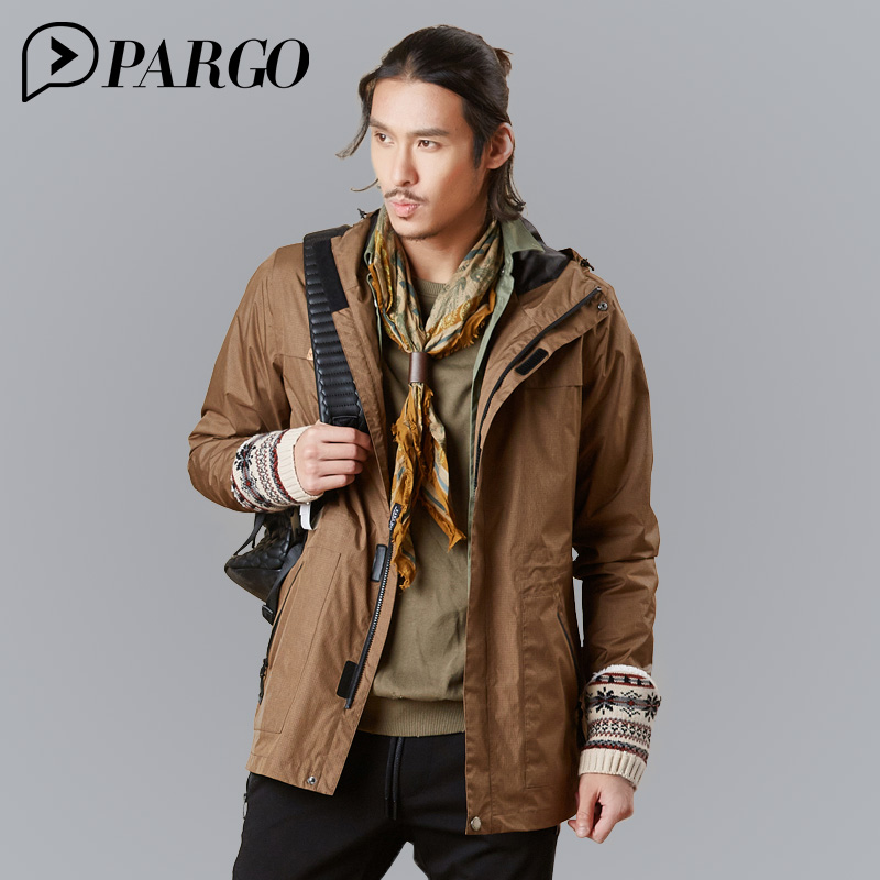 PARGO Spring Autumn Male Outdoor Hiking Jacket Waterproof Jacket Man Softshell Sports Jackets Windbreaker For Cycling M9004 mountec outdoor waterproof jackets spring autumn breathable sport climbing jacket windproof hiking lovers jacket windbreaker