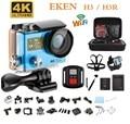"""Original EKEN H3/H3R Action Camera 4 K Ultra HD de 2.0 """"170D remoto duplo Da Tela Da Câmera 30 M À Prova D' Água câmera WI-FI Lente pro Estilo"""