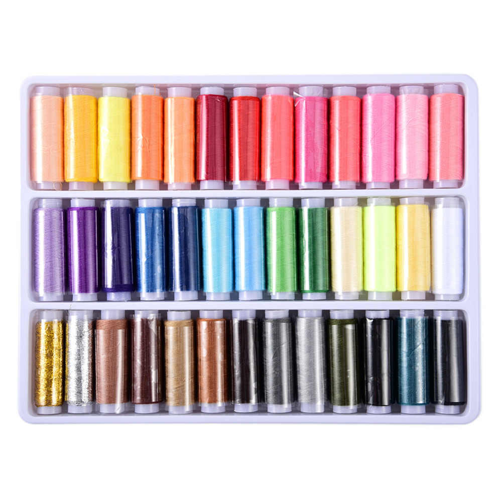 39 шт./лот цветов 402 высокое качество швейные нитки для рукоделия полиэстер