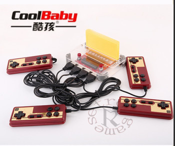 Coolbaby RS-40 Mini Retro Classic Video Game Console Games 8 Bit Family TV handheld game player 4 Gamepads Video Game Console