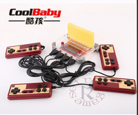 Coolbaby RS 40 Mini Retro Classic Video Game Console Games 8 Bit Family TV handheld game player 4 Gamepads Video Game Console