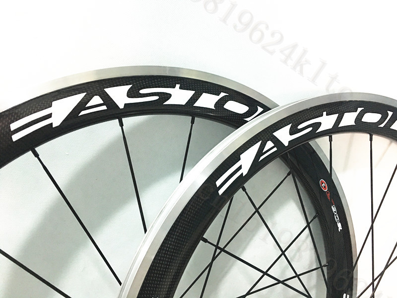 Carbon Road Cycling Wheels 38mm Clincher Alloy Brake Surface Powerway R13 Hub Custom Decals 50mm alloy bicycle wheel carbon Rims t700 powerway r13 hub ozuz 88mm carbon wheels road bike bicycle clincher with alloy nipple 3k carbon fiber wheel light wheelset