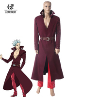 ROLECOS Anime Seven Deadly Sins Cosplay Ban Cosplay Costume Fox S Sin Of Greed Nanatsu No