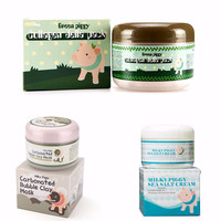 New Arrival Black Carbonated Bubble Clay Mask 100g Remove Blackhead Acne Purifying Pores Face Care Facial