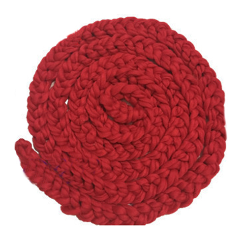 Newborn Wool Twist Rope Photo Props Backdrop Background Baby Photography Prop Handmade Crochet Knitted Costume Dark Red