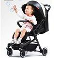 Carrinho de bebê Luz Ultra Pode Ser Deitado Dossel Portátil Folding Mini Quatro Rodas Do Trole Criança