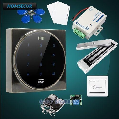 HOMSECUR Waterproof RFID Access Control Kit +280KG Waterproof Magnetic Lock