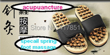 South Korea pebble foot font b massage b font slippers acupoint health care slippers summer woman