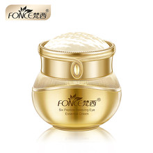 Fonce Six Peptides Firming Anti Wrinkle Refreshing Eye Cream 20g Anti-wrinkle Dark Circles Eye Care Firm skin Fades Fine Lines