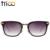 Trioo masculino óculos de sol de ouro legal do metal óculos de sol para homens marca de moda designer shades rosto pequeno formato da armação oculos eyewear