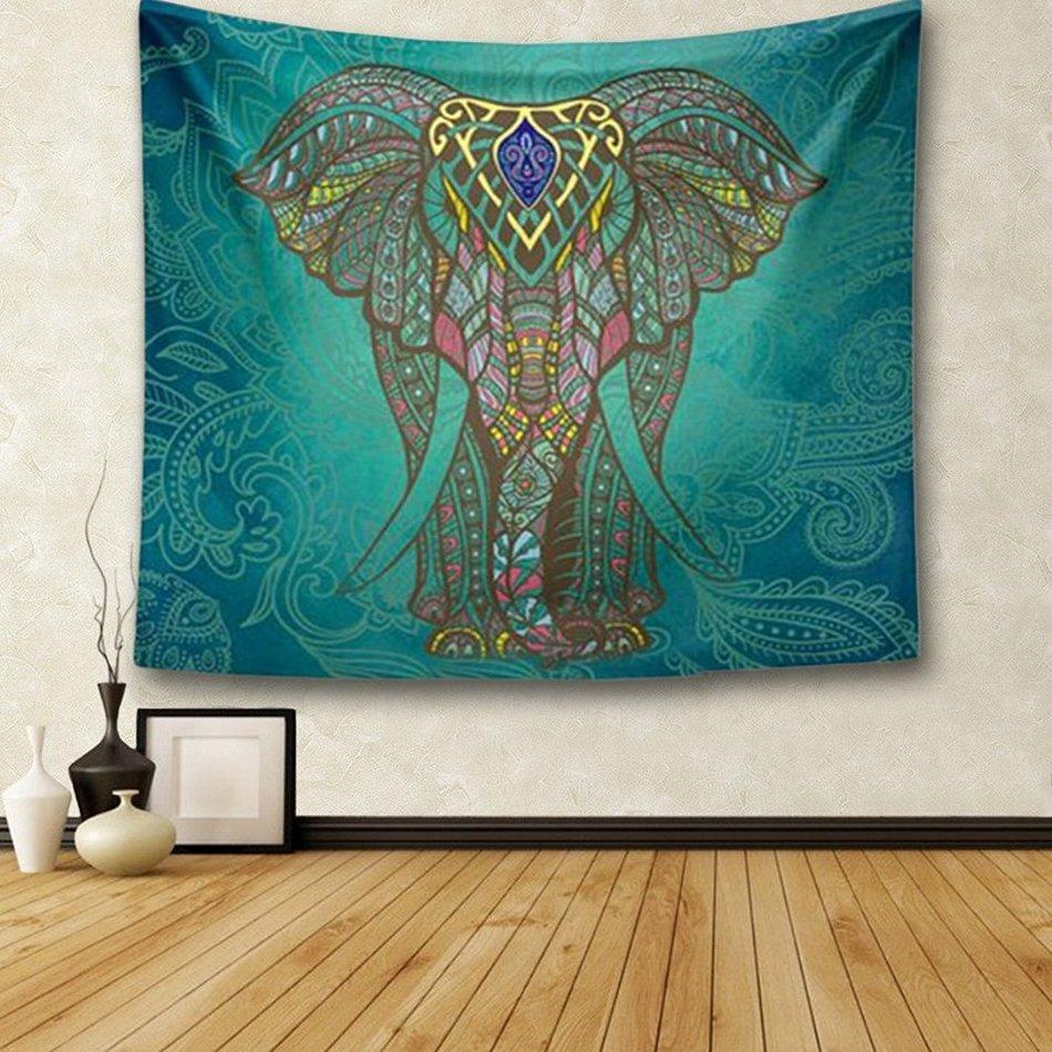 Holy Elephant Tapestry Wall Decorations Fashion Boho Prints Tapestry ...