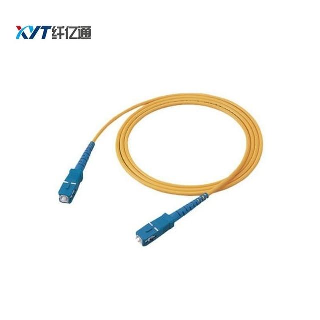 Free shipping 200pcs SC/UPC-SC/UPC fiber optic patch cord simplex single mode 3.0mm 2m patch cord