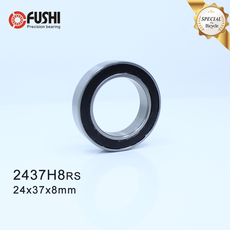 MR2437H8-2RS Bearing 24*37*8 Mm ( 1 PC ) ABEC-3 MR 24378 RS Bicycle BB Bracket Bottom 24 37 8 Balls Bearings