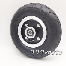 Electric Scooter Tyre With Wheel Hub 8 200x50 Tire Inflation Vehicle Aluminium Alloy Pneumatic
