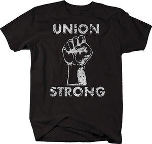 Camiseta de gran oferta de la Unión de la moda, camiseta Power Fist UAW Trades, 2019