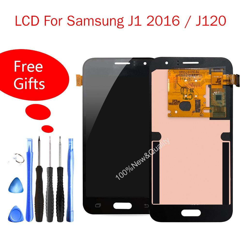 Quality Lcd For Samsung Galaxy J1 2016 J120F LCD Touch Screen Digitizer Display For Samsung J120DS J120G J120M J120H J120 LcdQuality Lcd For Samsung Galaxy J1 2016 J120F LCD Touch Screen Digitizer Display For Samsung J120DS J120G J120M J120H J120 Lcd