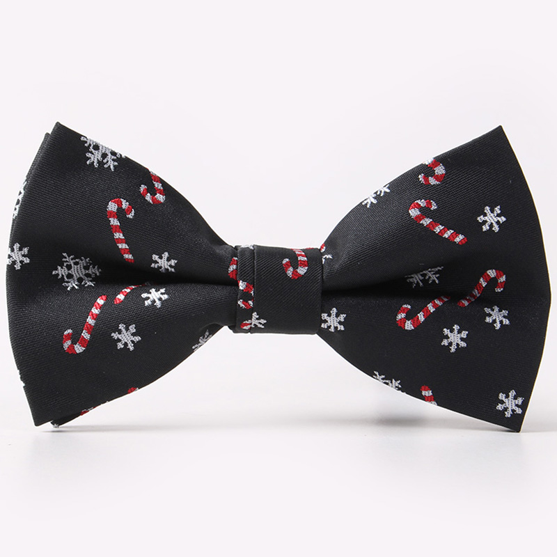 Ricnais Brand Bow Tie For Men Christmas Tree Bowties For Mens Wedding Cravat Fashion Casual Christmas Bowtie Crutch Men Gifts