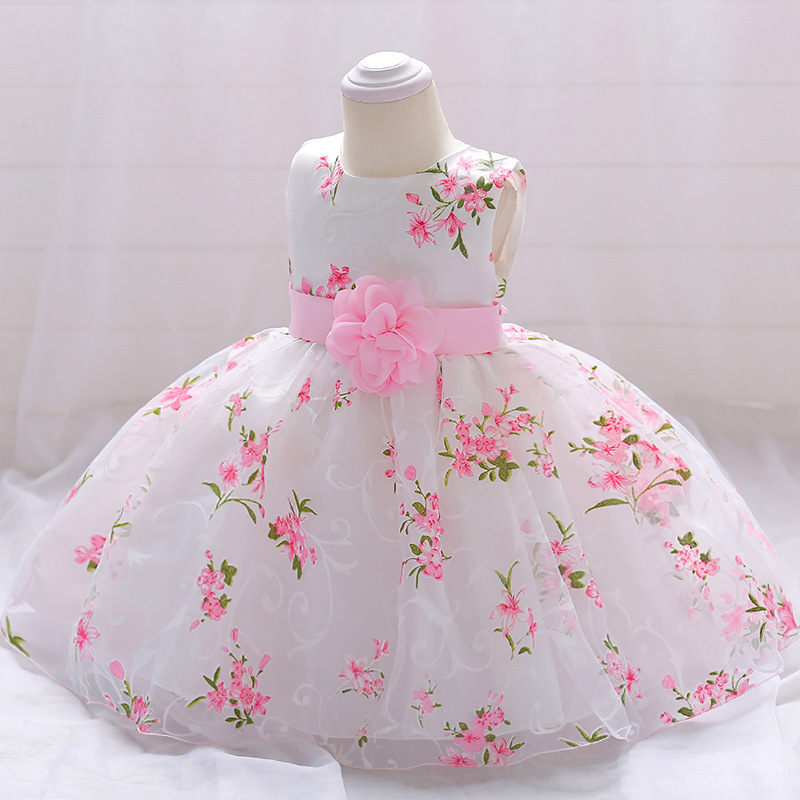 Vintage Baby Dresses 1 2 Year First Birthday Girl Party Infant Dress 2018 Newborn Wedding Baptism Christening Gown For Baby Girl (8)