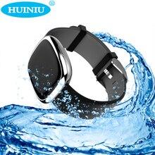 P2 смарт-браслет сердечного ритма фитнес-трекер группа крови давления шагомер часы Bluetooth Здоровье Спорт водонепроницаемый браслет