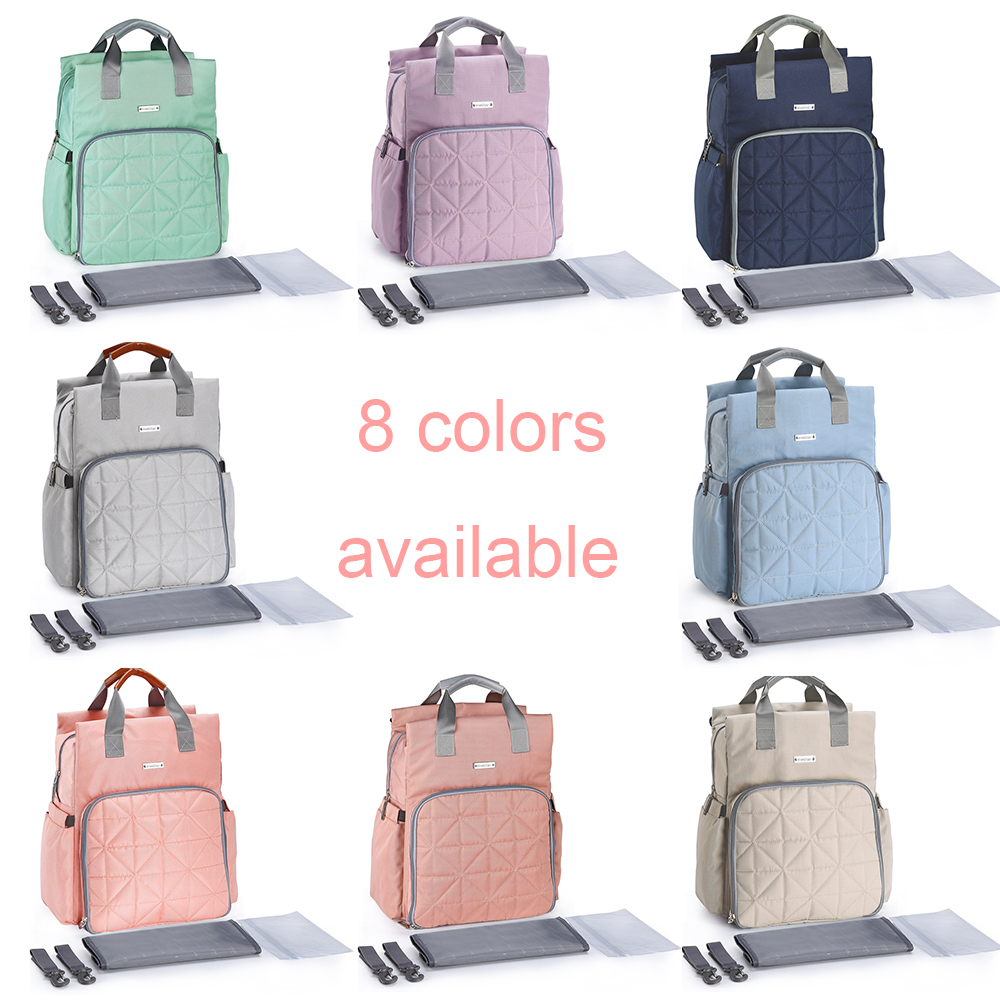 Fashion Mother Maternity Baby Nappy Care Bag Waterproof Travel Backpack Kit for Mom 2018 Mommy Nursing
