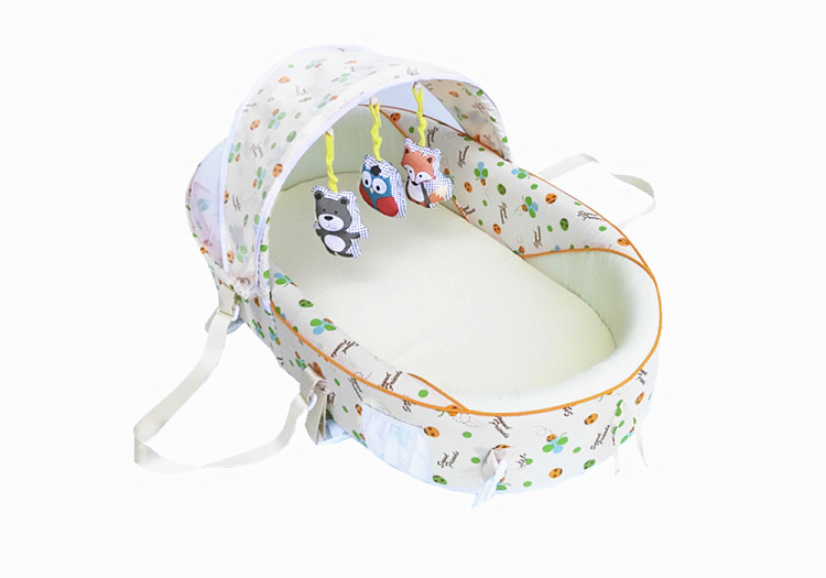 Multifunctional folding baby bed band mosquito net bed portable bb bed baby travel bedMultifunctional folding baby bed band mosquito net bed portable bb bed baby travel bed
