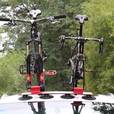 Велосипед стойки всасывания крыши велосипед автомобилей стойки Перевозчик быстро Установка багажник для MTB горной дороге велосипед аксесс
