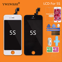 YWEWBJH 40Pcs Lot AAA LCD Touch Screen For 5S No Dead Pixel Spots Display Assembly Repair
