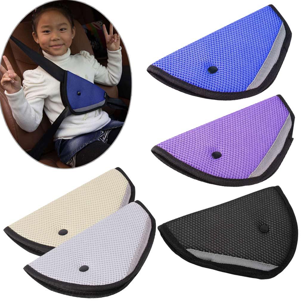 New Kids Children Car Safety Cover Shoulder Harness Strap Adjuster Seat Belts Covers 2017