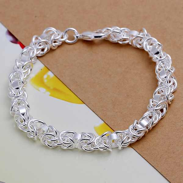 4207bcc85 Silver plated female models exquisite wedding nice gift circle bracelet  fashion charm chain women models birthday