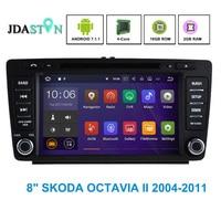 Android 7 1 1 2GB RAM Car DVD Player For SKODA OCTAVIA II Bluetooth SWC 3G