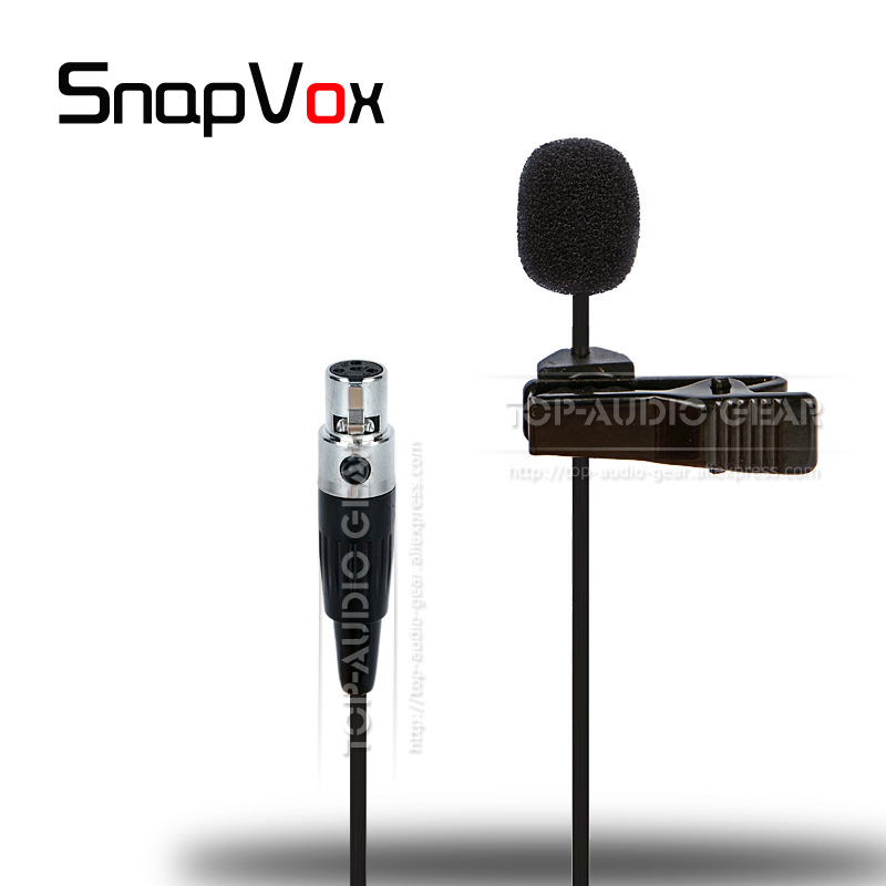 ta4f mini xlr lavalier lapel tie clip microphone for shure wireless microphone system t1 ut1 sc1. Black Bedroom Furniture Sets. Home Design Ideas