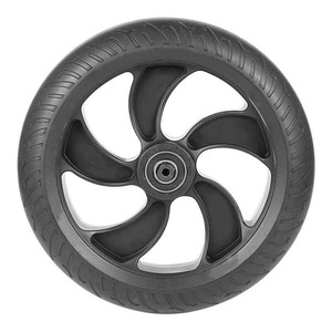 Image 1 - Replacement Rear Wheel For Kugoo S1 S2 S3 Electric Scooter Rear Hub And Tires Spare Part Accessories
