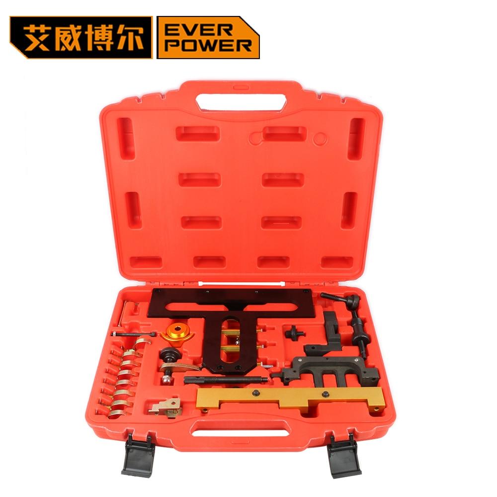 Everpower pour BMW outils de distribution N42 N46 N46T outils de moteur Kit d'outils à main de réparation automatique outils de réparation d'entretien du moteur