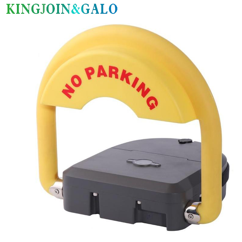 outdoor used water proof remote control battery powered automatic parking barrier parking lock parking space saver with IP68 half ring shape of the block machine parking barrier lock