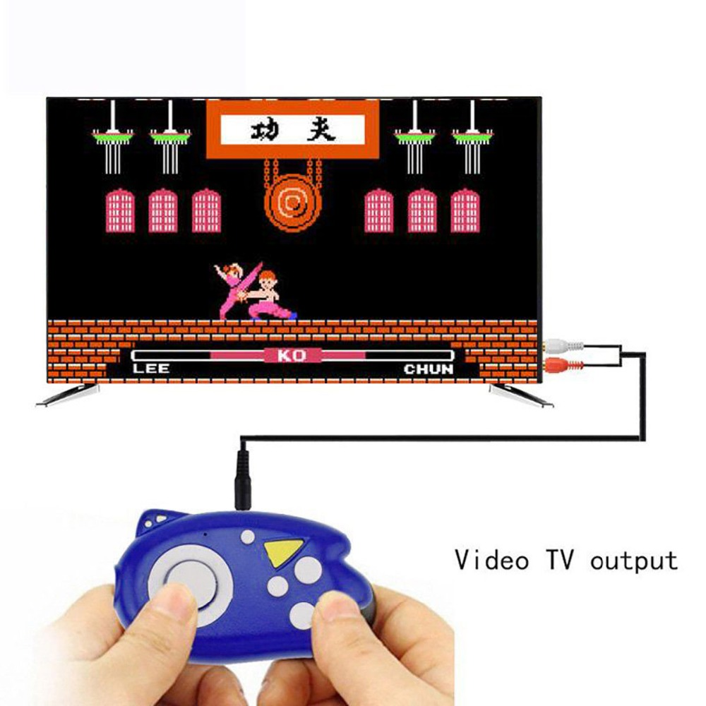 8 Bit Mini Video Game Console Players Build In 89 Classic Games Support TV Output Plug&Play Game Player Best Gift for Kid