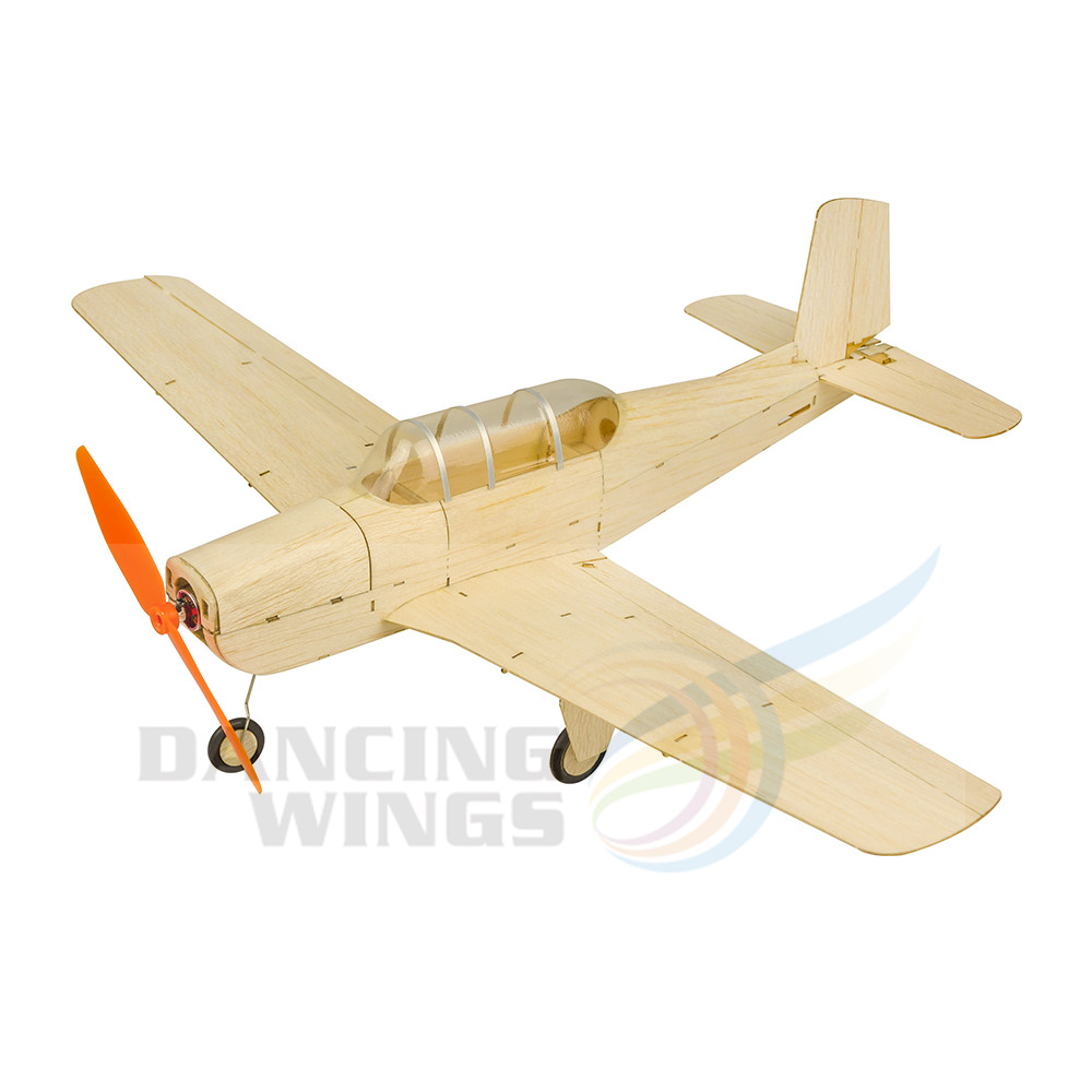 RC Remote Control Airplane Balsawood Micro T 34 Toy Planes Model Wood Aircraft Model Kits DIY