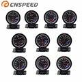 CNSPEED 60 мм вольт метр Температура воды и масла temp gauge Turbo Boost датчик масла пресс метр выхлопных газов temp gauge EGT/EXT Вакуумный датчик