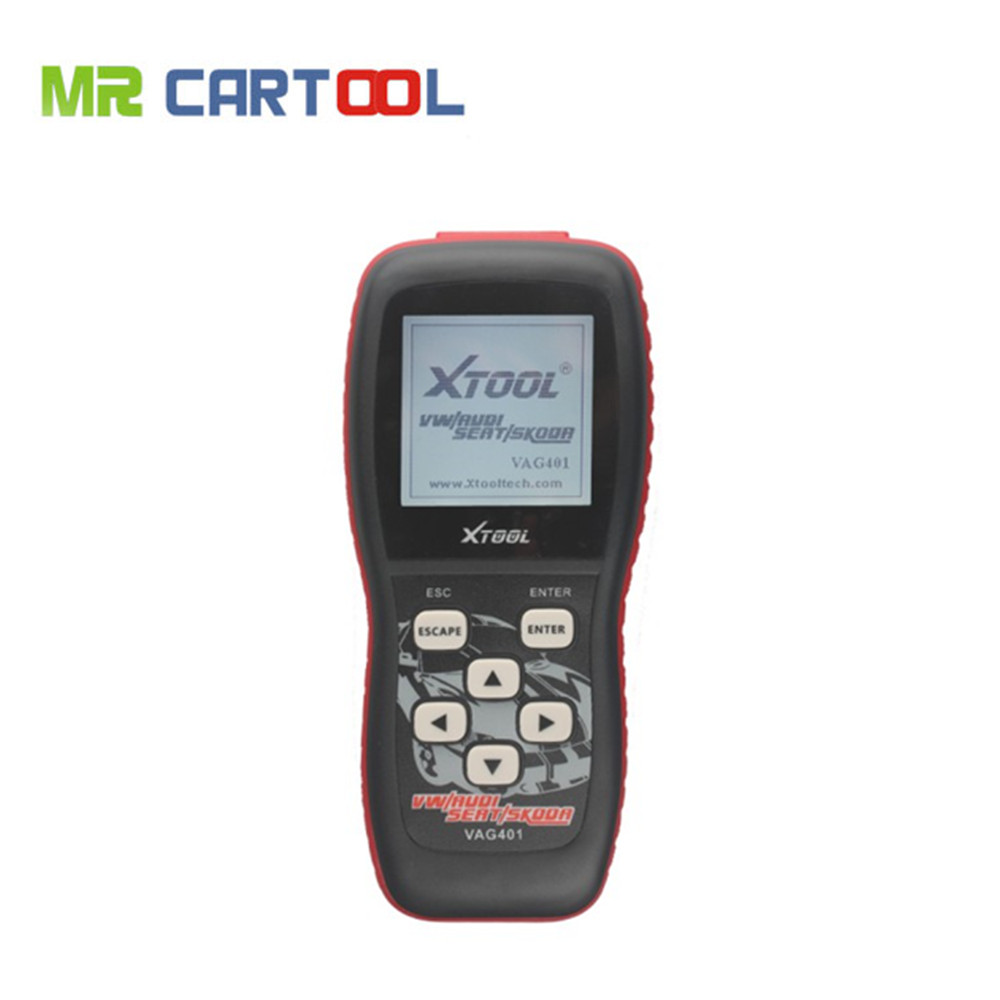 Prix pour 100% D'origine XTOOL Lecteur de Code VAG401 VW/AUDI/SEAT/SKODA Outil Professionnel VAG 401 Code Scanner