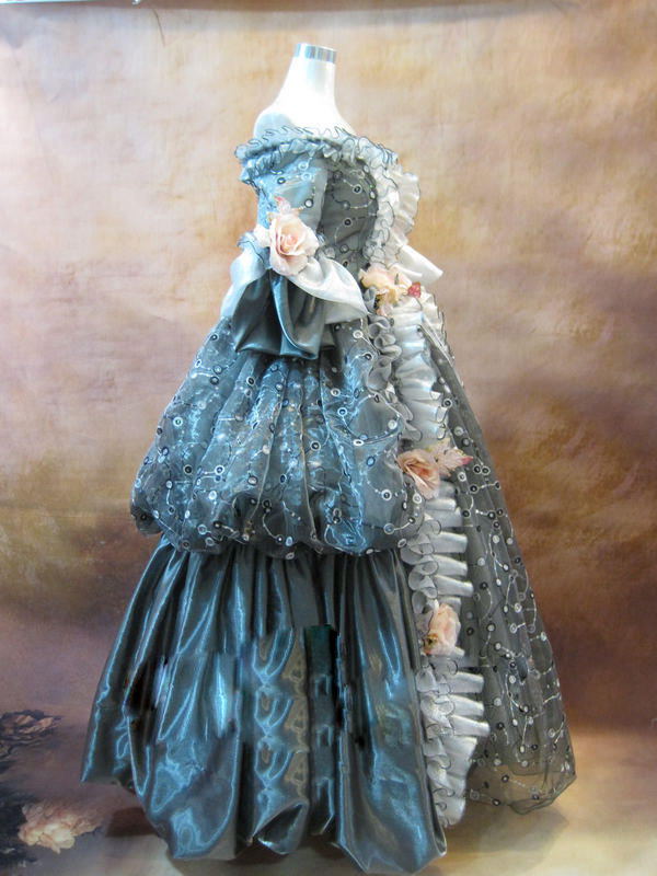 Dresses Independent 17 18th Century Gray Floral Marie Antoinette Off The Shoulder Baroque Rococo Halloween Costume Cosplay Costume Dress To Clear Out Annoyance And Quench Thirst