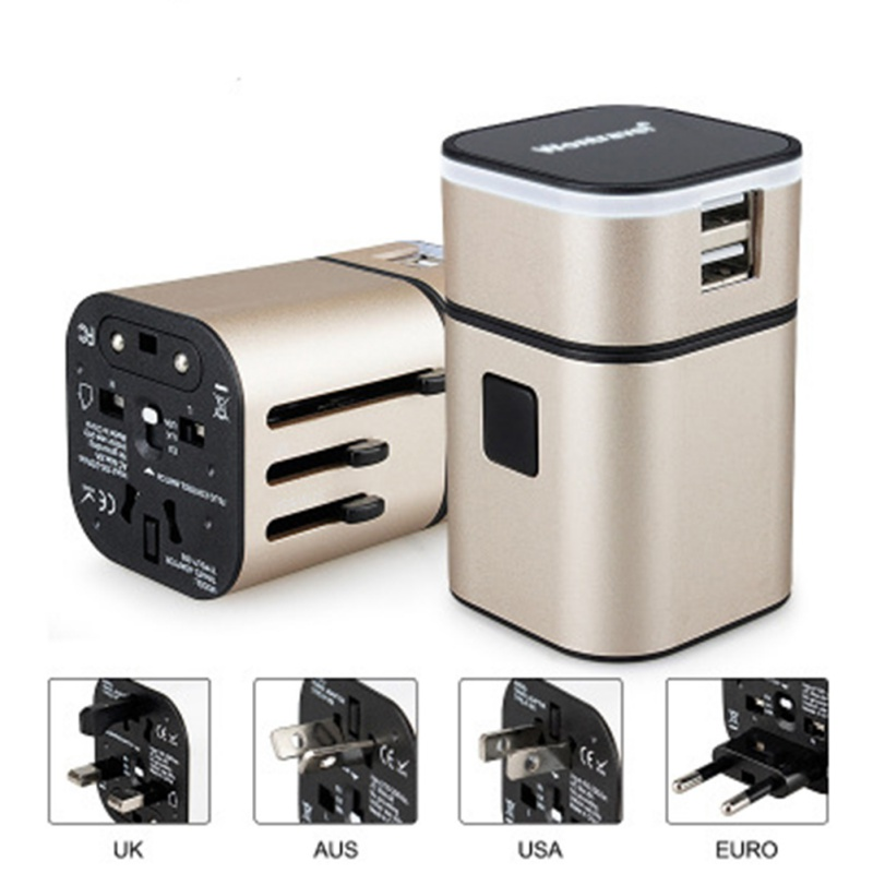 Best Price Universal UK US AU to EU AC Power Socket Plug Travel Charger Adapter Converter