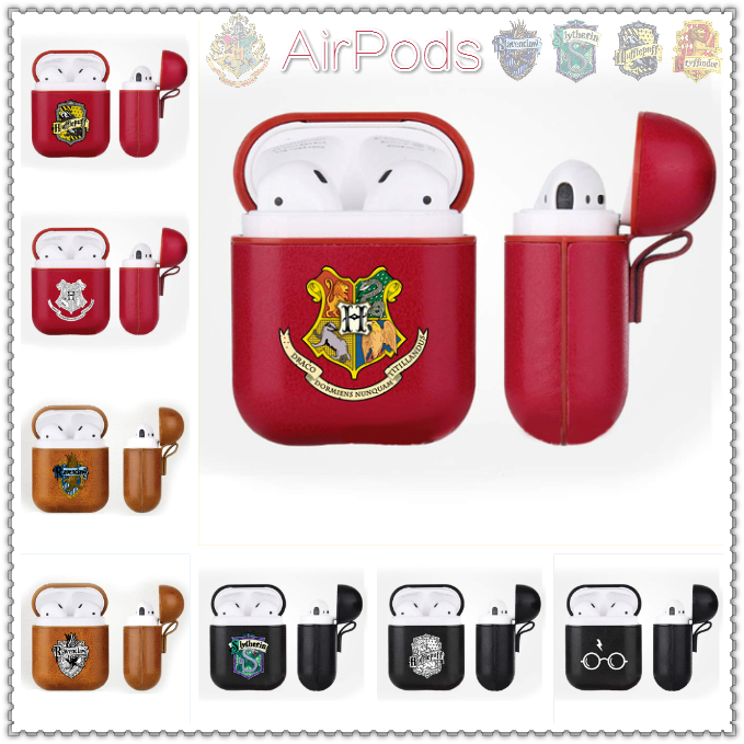Harri Potter Airpods Case Wireless Bluetooth Earphones Box Gryffindor Ravenclaw Logo Portable Protective Cover For Apple Airpods Demand Exceeding Supply