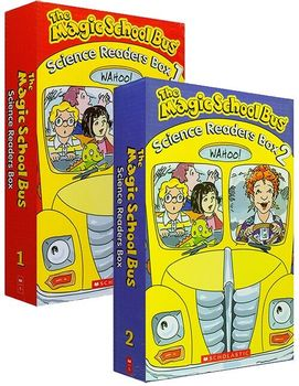 20 Books/set The Magic School Bus Science Readers Kids Coloring Reading Story Books for Children Book Set Educational Toys - discount item  5% OFF Learning & Education