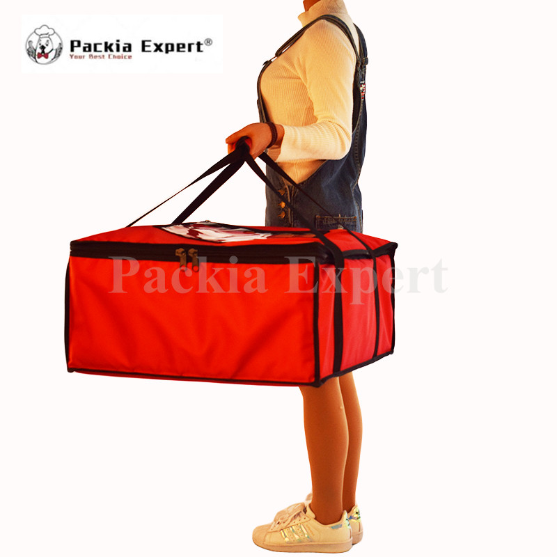 Inner size 52*52*25cm Food delivery bag 20inch Pizza (max. siz)Thermal Insulation Bag Pizza Delivery Bag PKHS525225i 46 26 46cm backpack insulation bag food package delivery pizza delivery bag