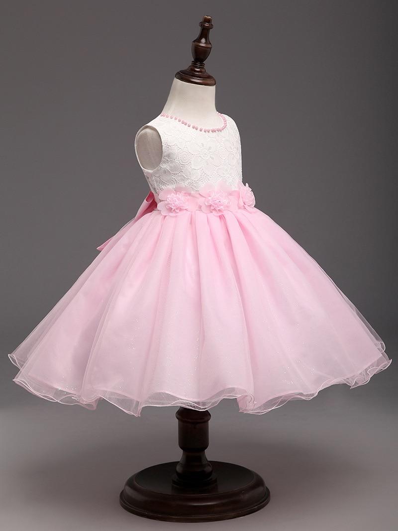 Niñas desgaste formal del vestido partido noche cumpleaños niños ...
