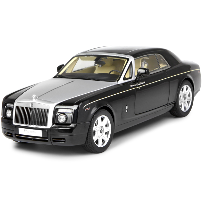 1:18 Alloy Car for Rolls-Royce Phantom Coupe Static State Model Two-door Hardtop Luxury Sports Car Boy Child Collectible Gifts