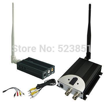 Ny 1,2 GHz 2500 mW lang rækkevidde trådløs videosender med 8 - Sikkerhed og beskyttelse - Foto 1