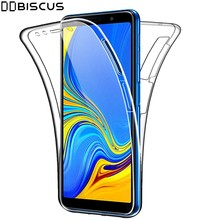 360 Degree Case For Samsung Galaxy Note 8 9 10 Lite S8 S9 S10 Plus S10E A5 A6 A7 A8 J3 J4 J5 J6 2018 2017 J7 Pro Full Body Cover(China)